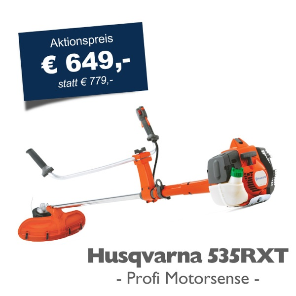 husqvarna profi motorsense 535 rxt freischneider trimmer aktionspreis ebay. Black Bedroom Furniture Sets. Home Design Ideas